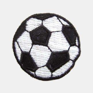 Voetbal strijkapplicatie